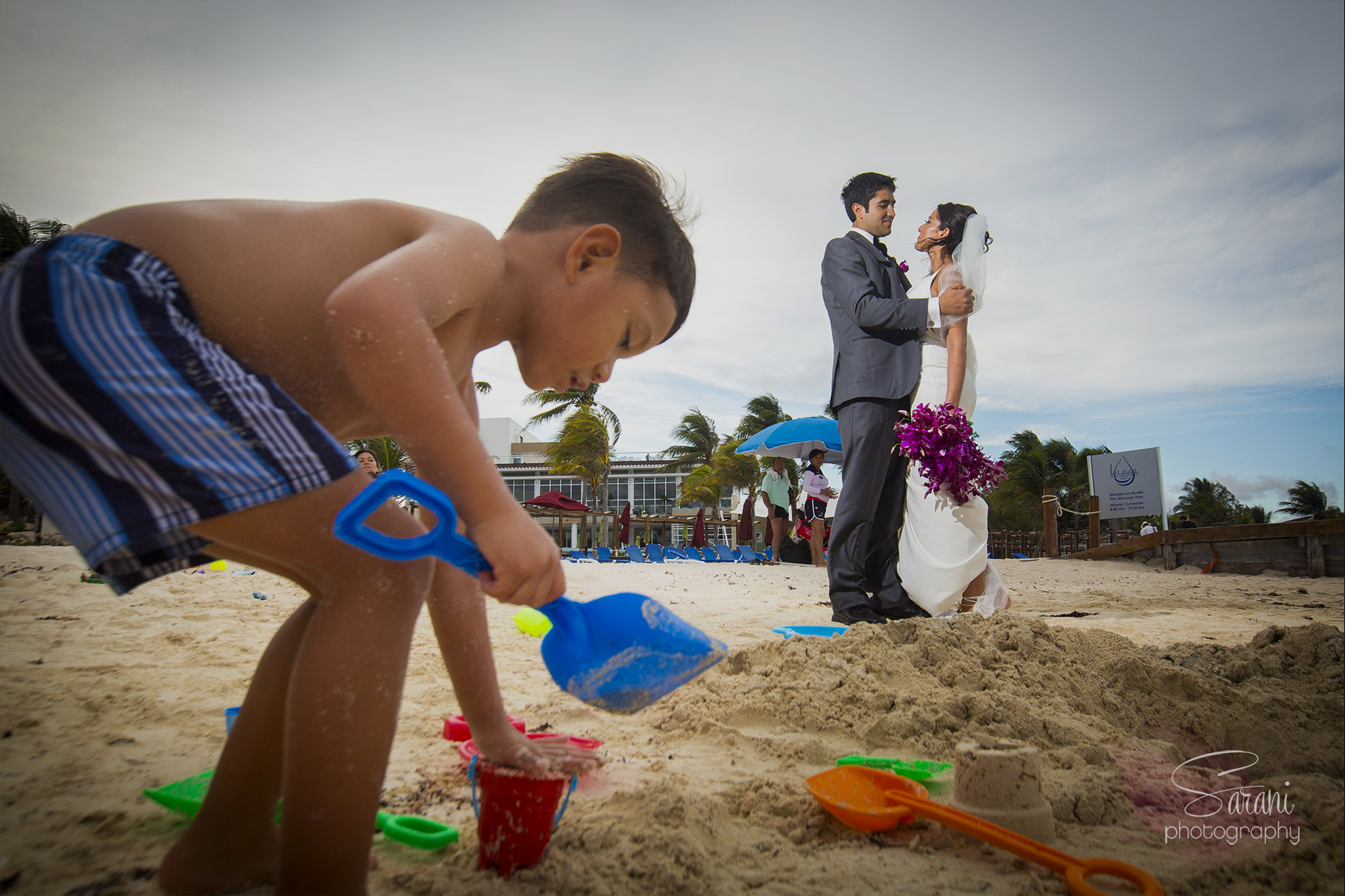 Azul Fives Resorts Wedding Photography
