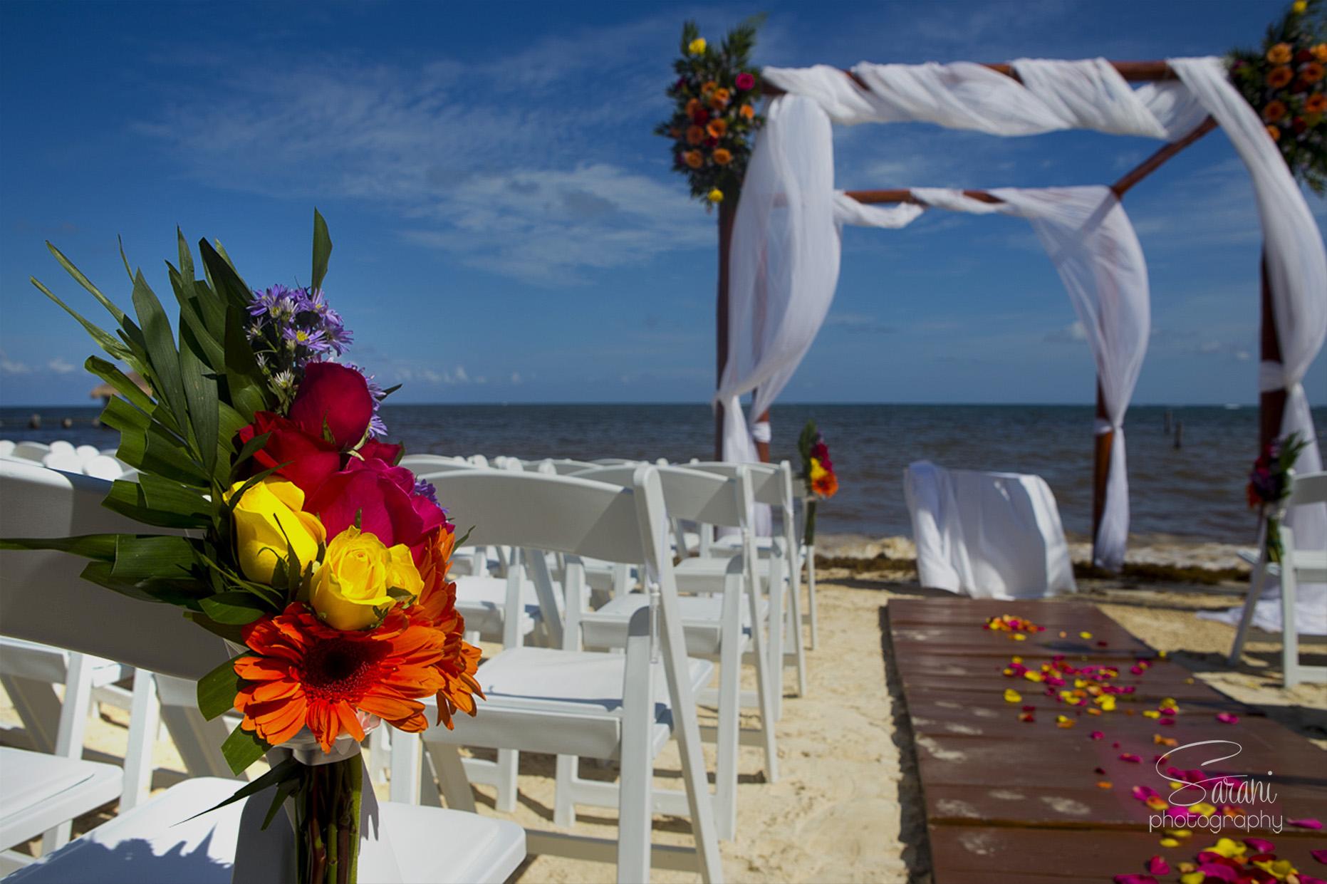 Azul Beach Wedding Photography