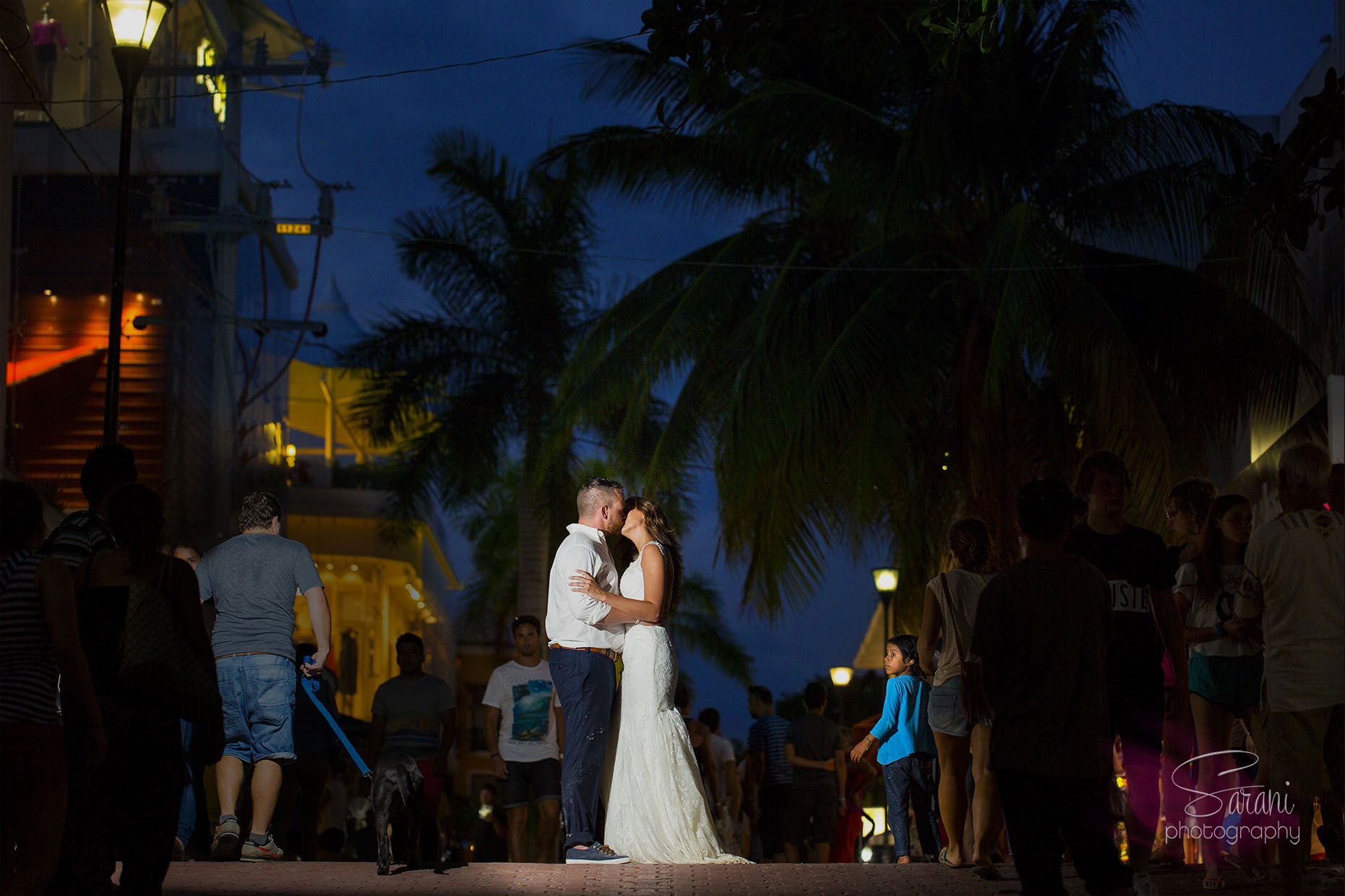 Wedding Photography at Azul Beach Resort