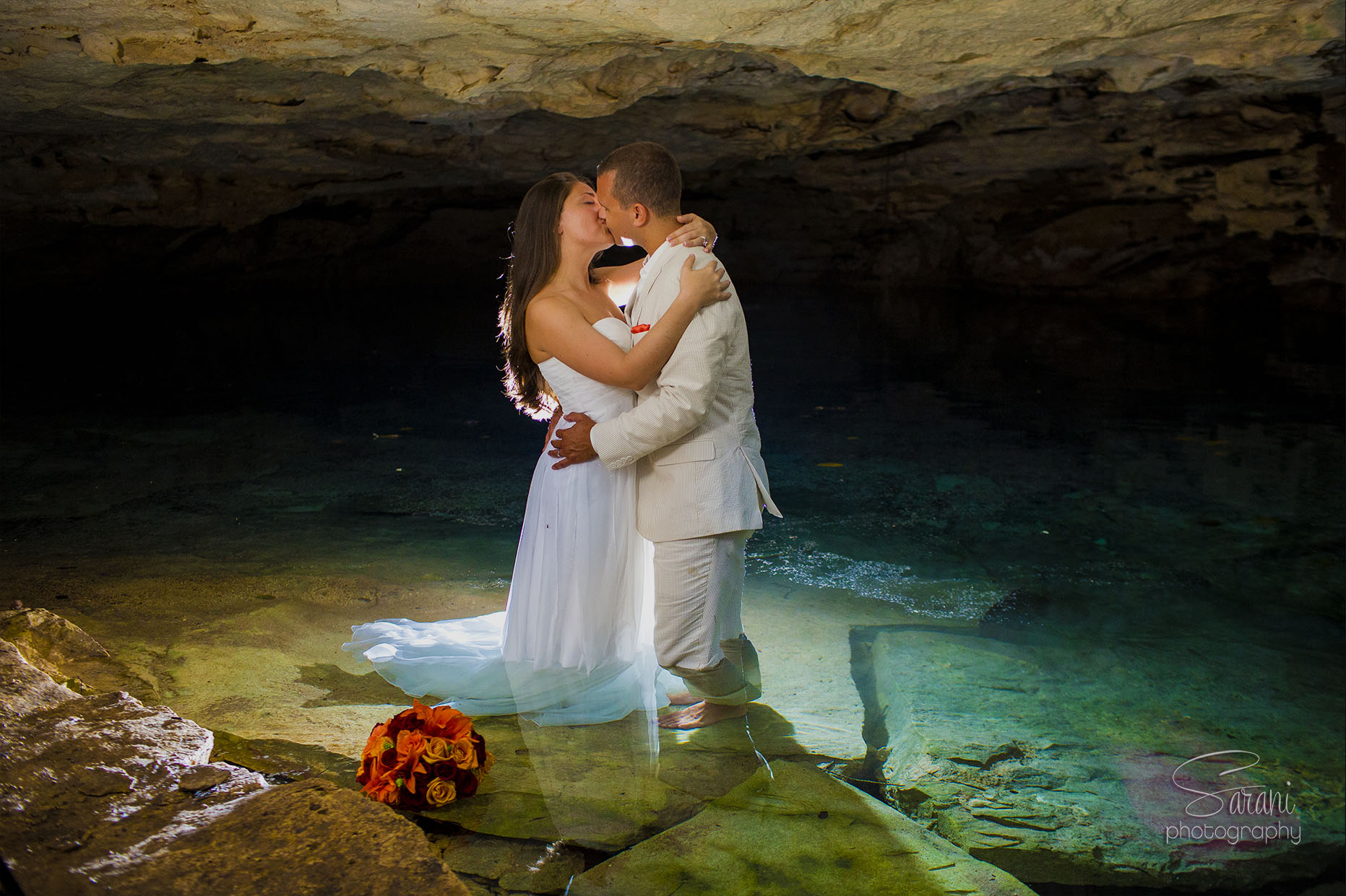 Cancun Underwater Trash The Dress Photos