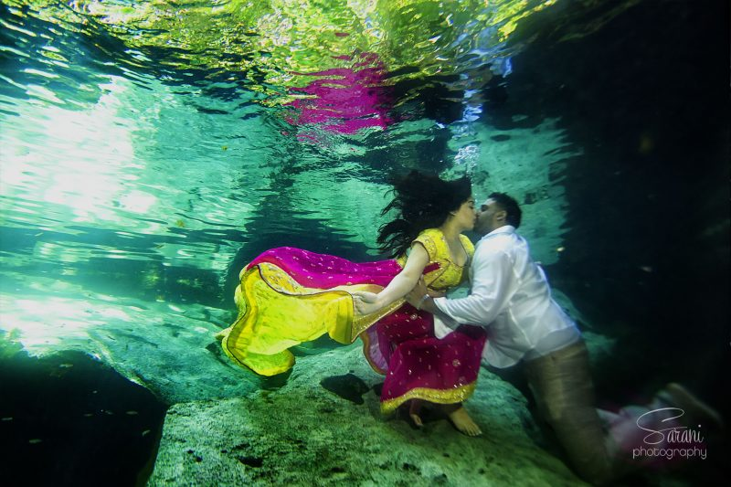 Cancun Trash The Dress Photo Session