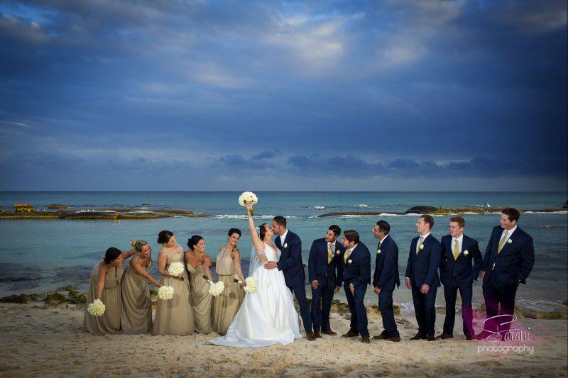 Jewish Wedding at El Dorado Royale