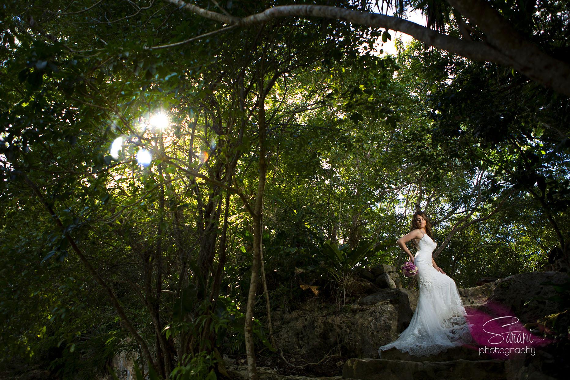 Cancun Trash the Dress Photo Session