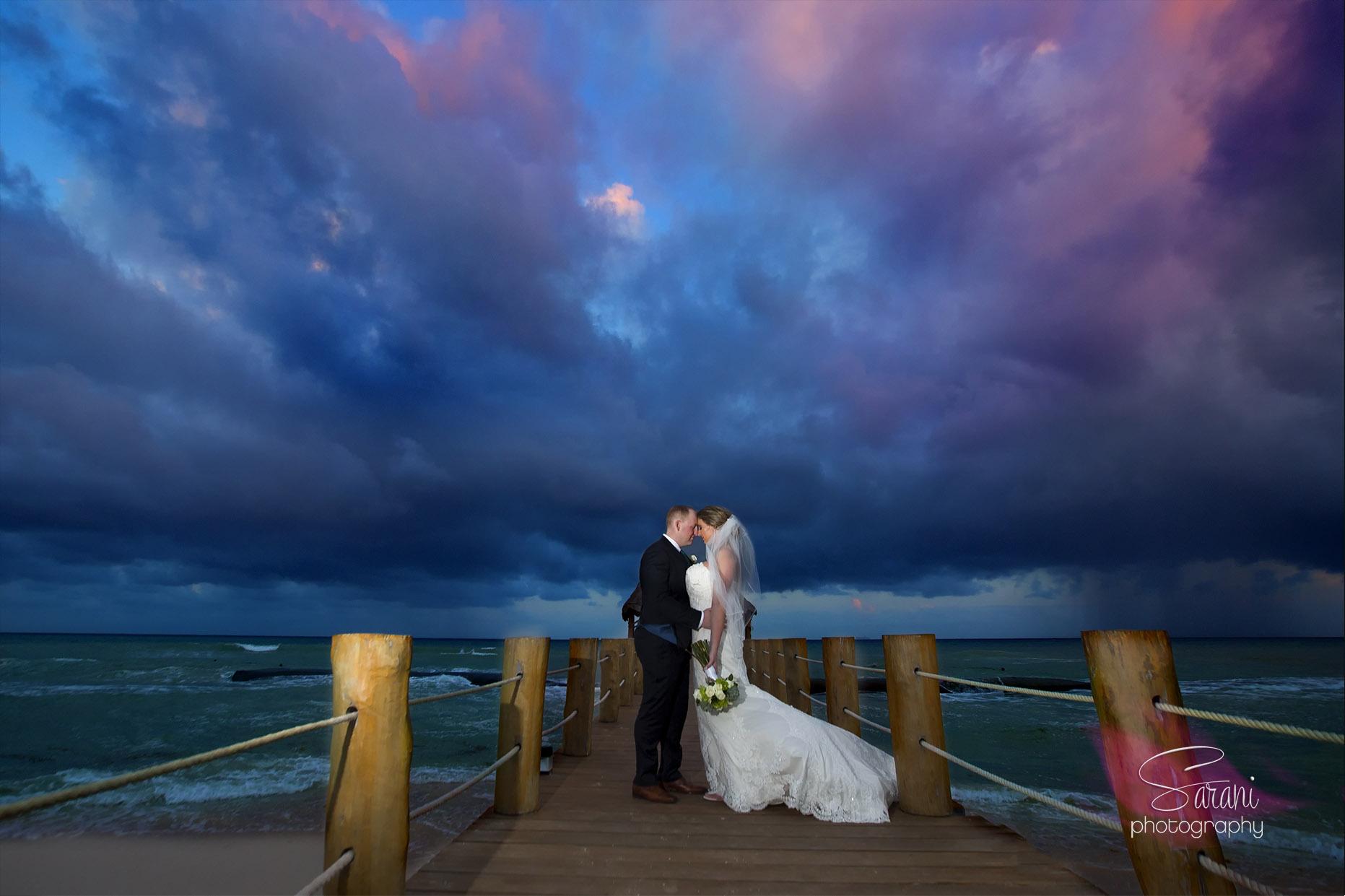 Wedding Photography at Azul Fives Resort