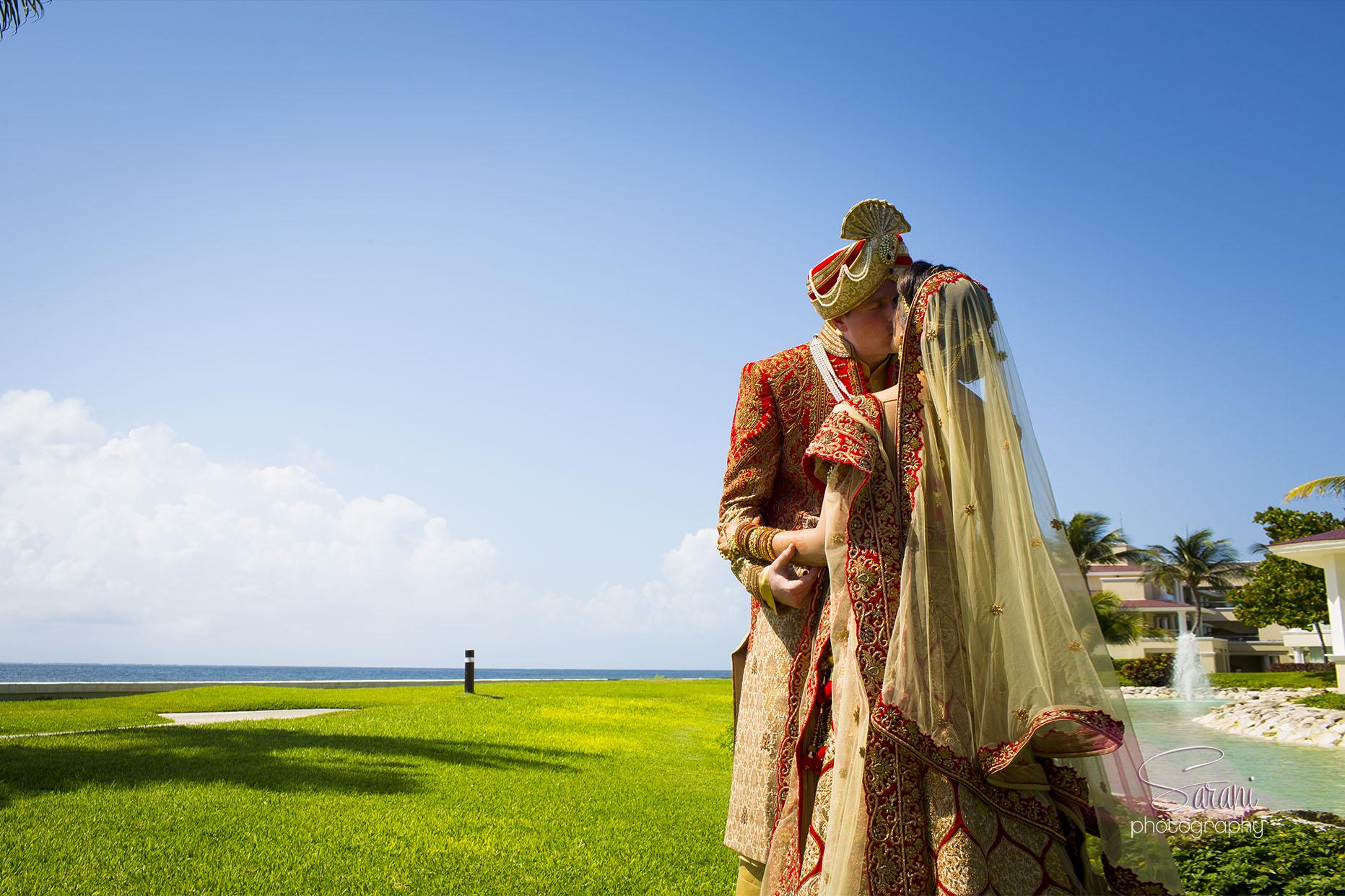 Moon Palace Resort Indian Wedding Photography