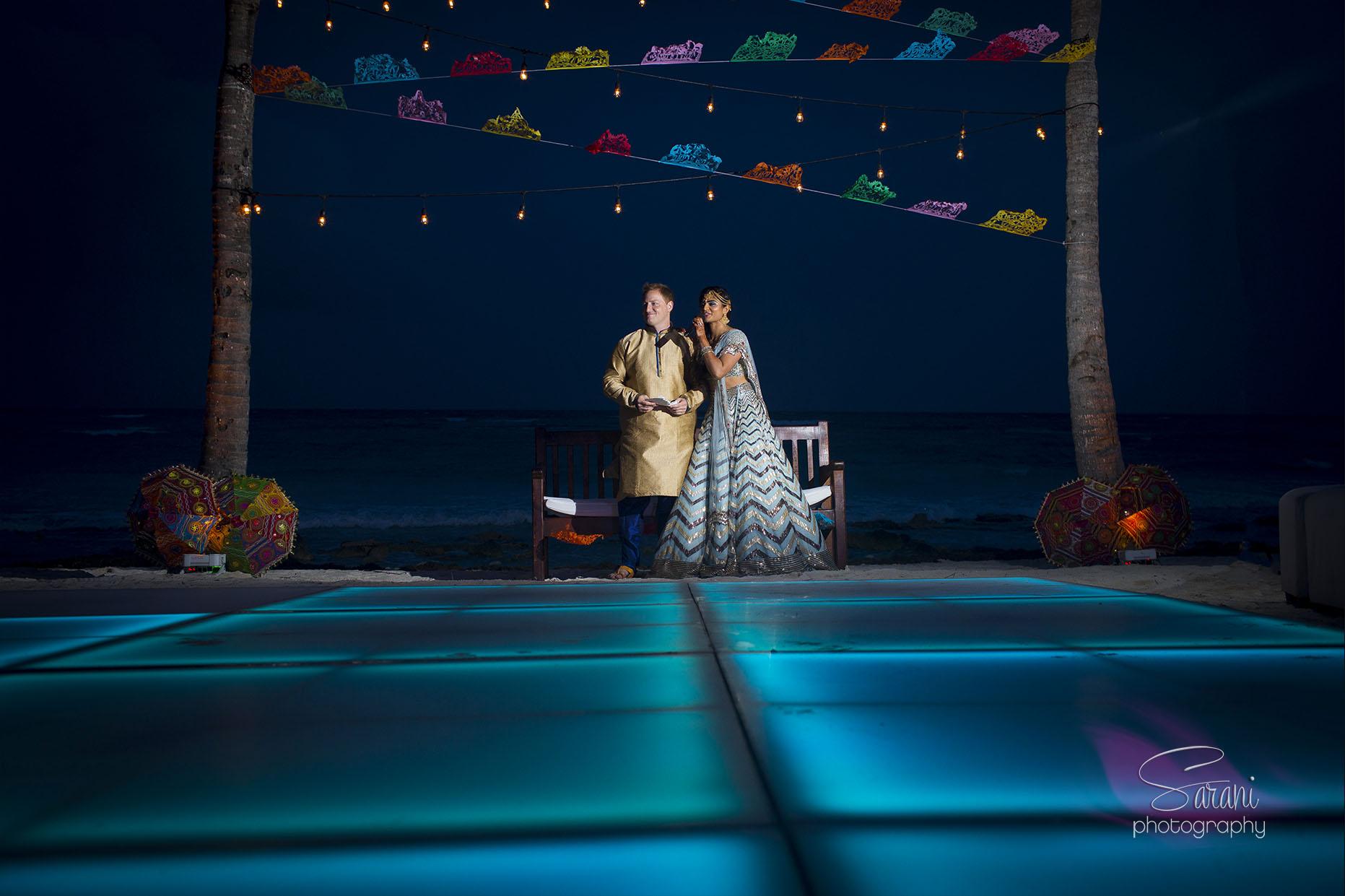 Barcelo Maya Palace Indian Wedding Photography