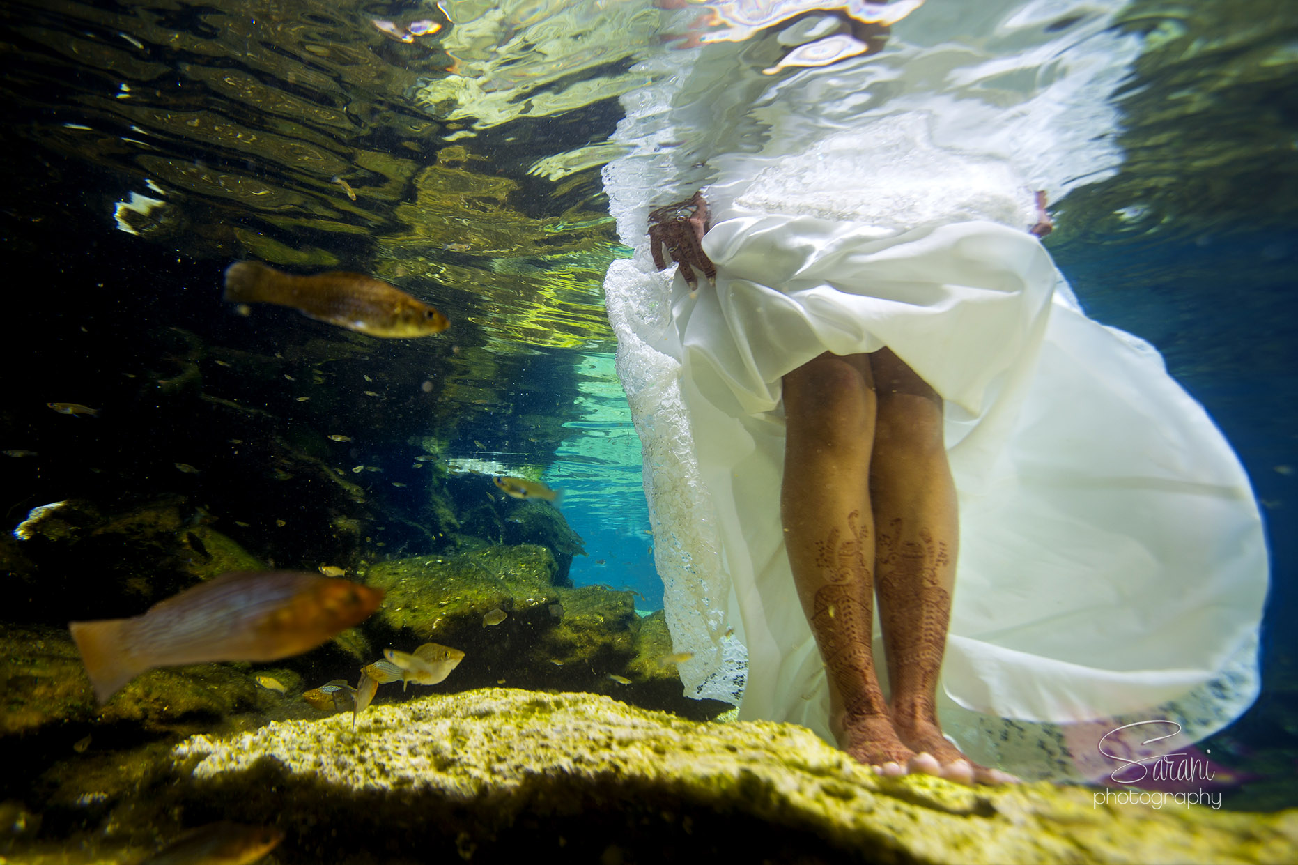 Riviera Maya Trash The Dress Photo Session