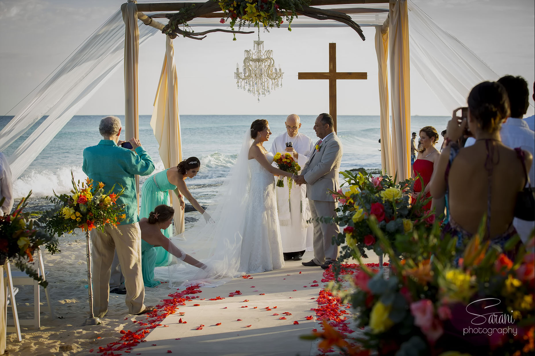 Azul Fives Resort Wedding Photos