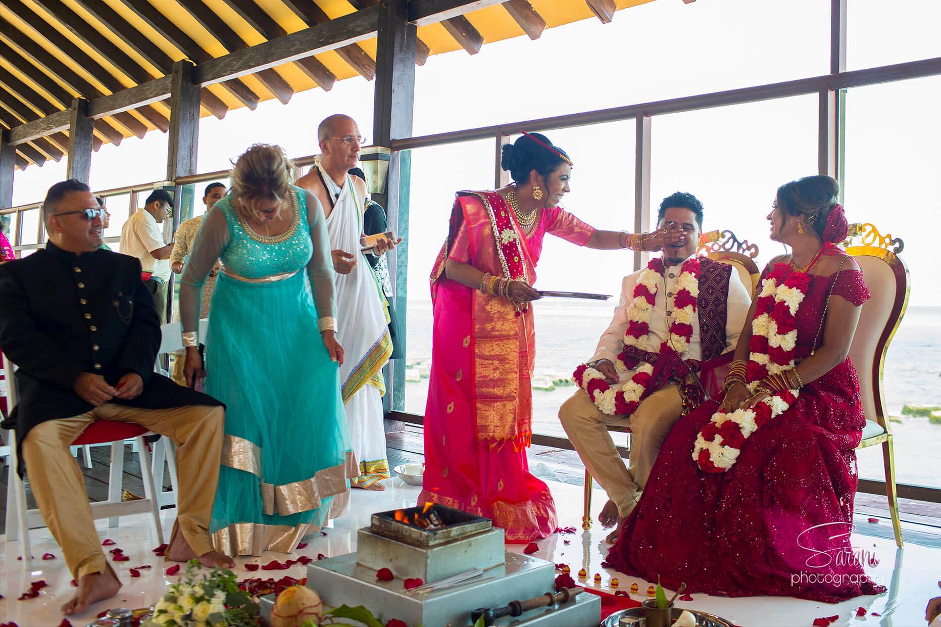 Generations Riviera Maya Indian Wedding Photography